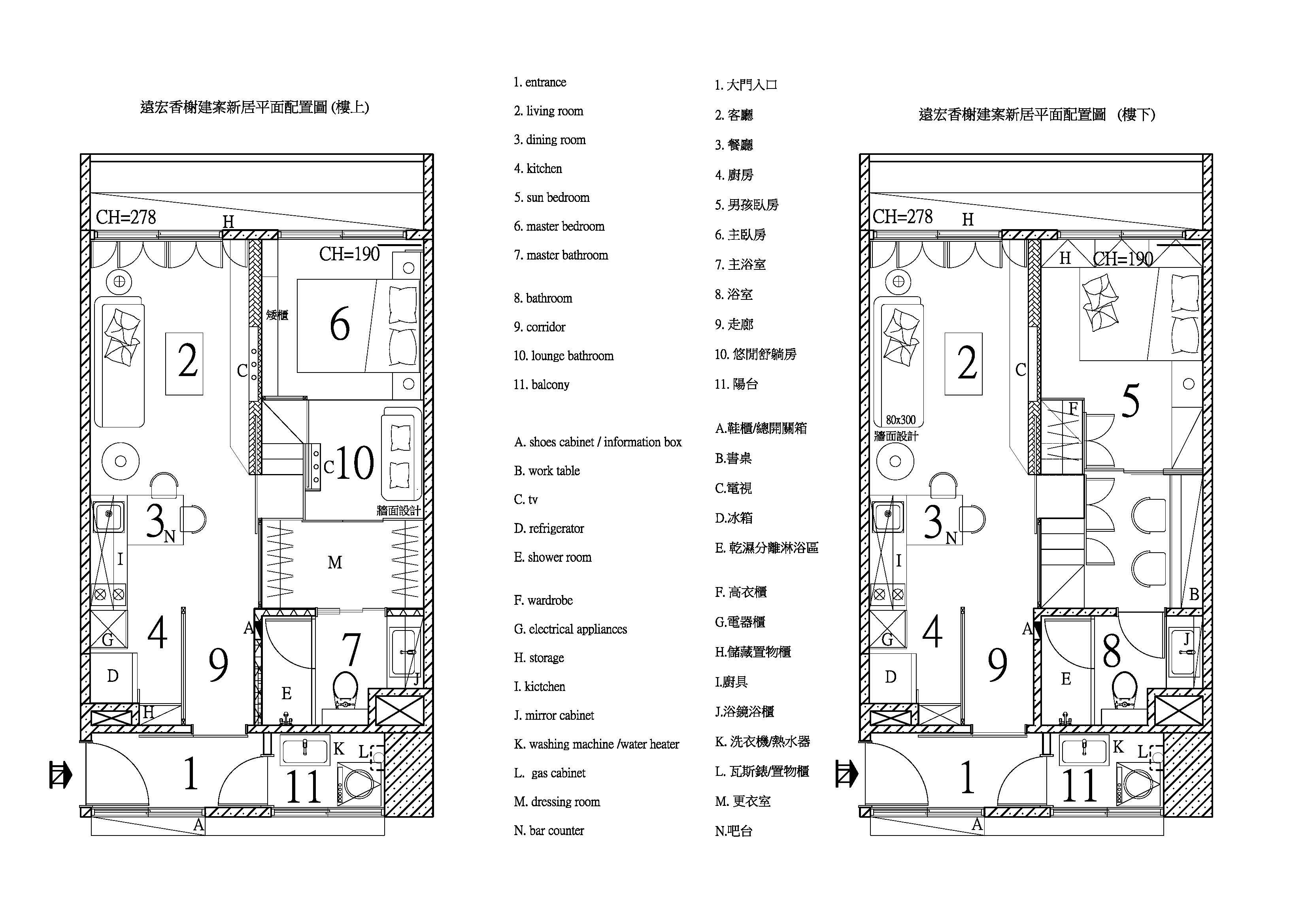 遠宏香榭建案平面圖 Model (1)